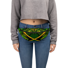 Load image into Gallery viewer, Jamaica Tropical Print Fanny Pack / Bum Bag
