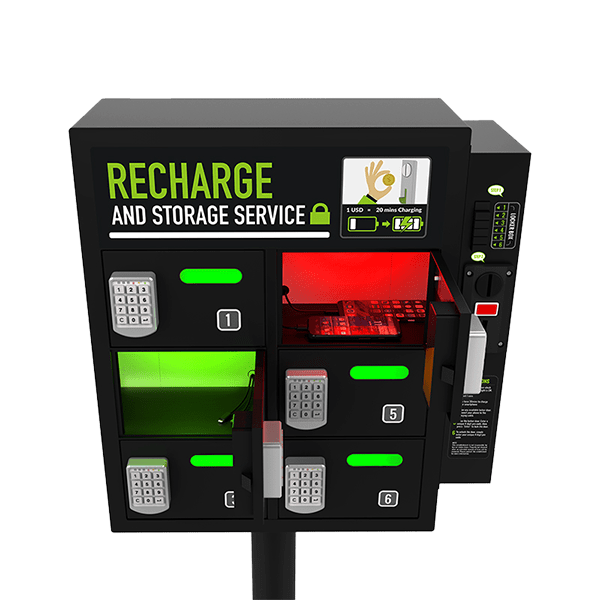 ARCAS Coin-Operated Charging Locker $variant_title Pagertec