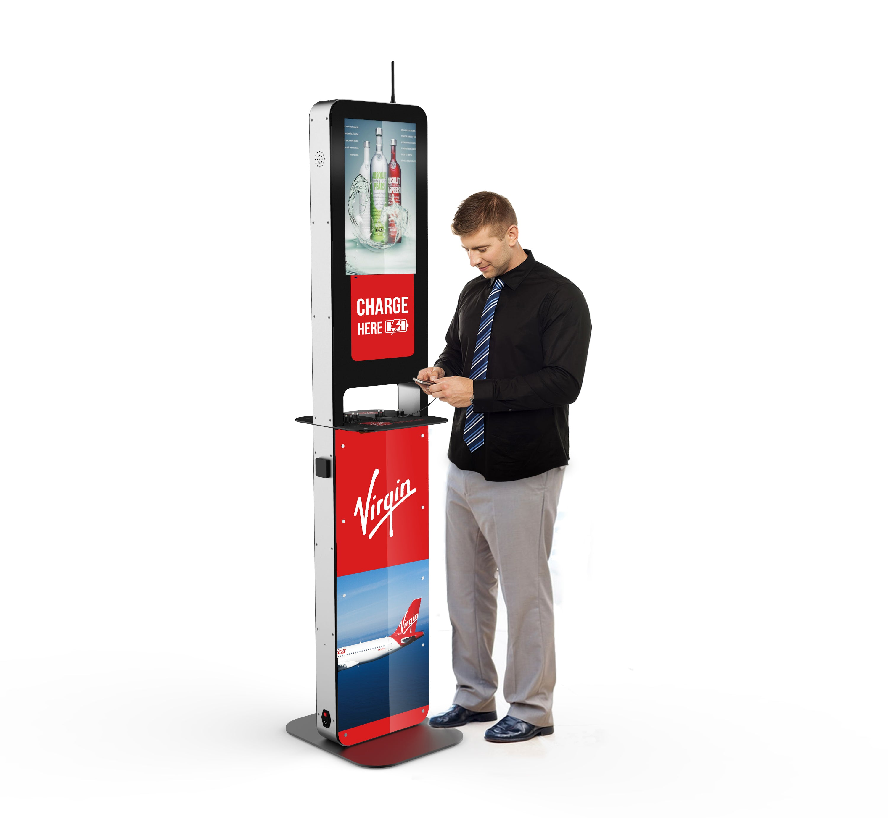 Aidan Charging Kiosk $variant_title Pagertec