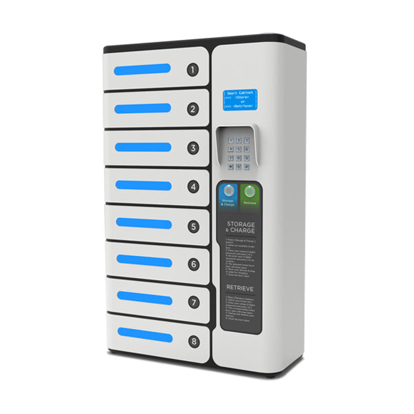 Mia 8 Bay Charging Locker $variant_title Pagertec