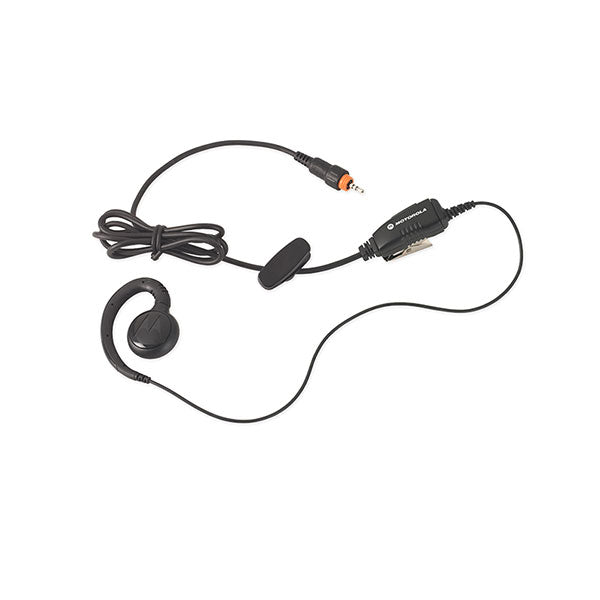 CLP Short Cord Swivel Earpiece with Inline PTT $variant_title Pagertec