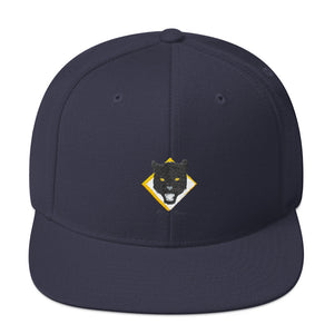 This snapback is structured with a classic fit, flat brim, and full buckram. The adjustable snap closure makes it a comfortable, one-size-fits-most hat. The best part is that this product is available in a variety of colors so that you're not stuck with a basic product.