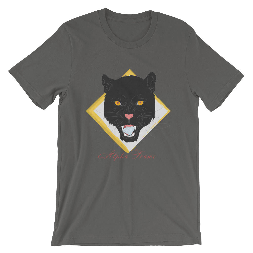 The look you've been waiting for is finally here. Unleash your inner alpha with the freshly designed panther tee. It's combed and ring-spun cotton mixed with side-seamed, shoulder-to-shoulder taping will leave you will a comfortable stretch and elevated confidence.