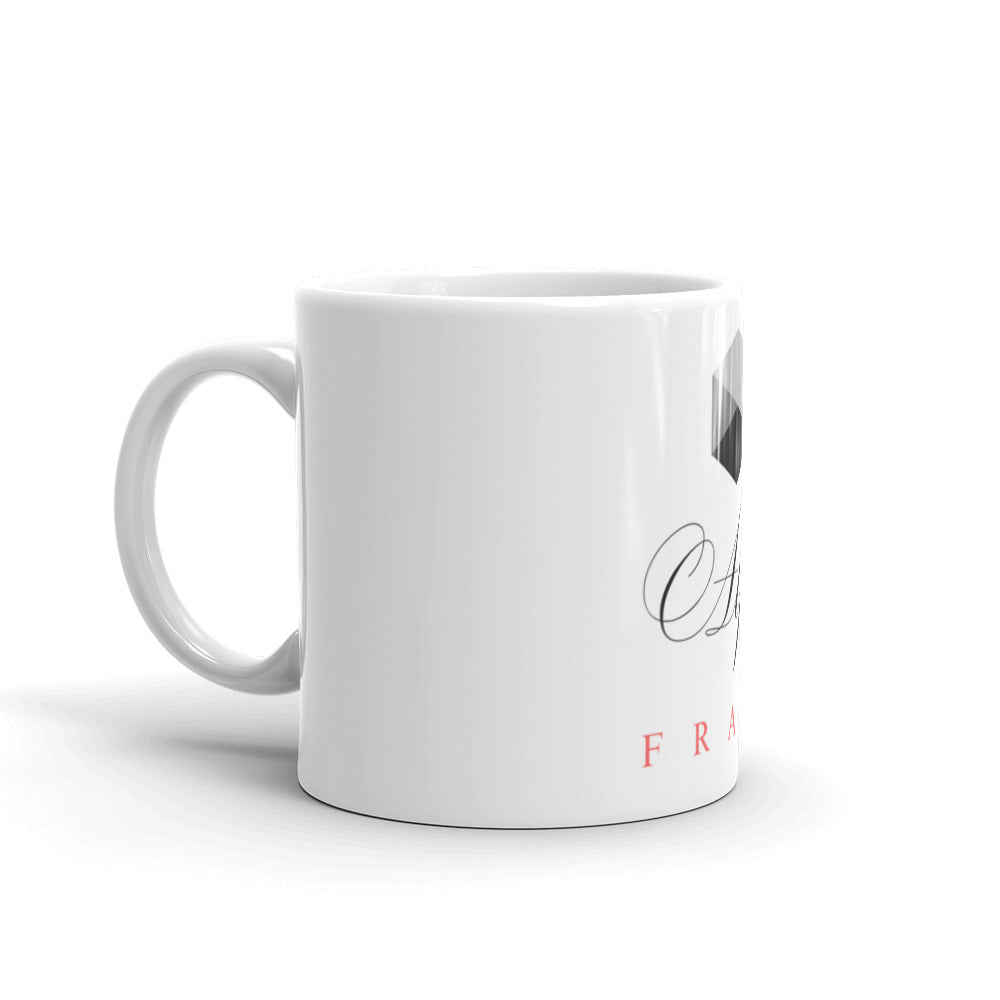 Whether you're drinking your morning coffee, your evening tea, or something in between – this mug's for you! With the ceramic design, it's sturdy and glossy with a vivid print that'll withstand the microwave and dishwasher.