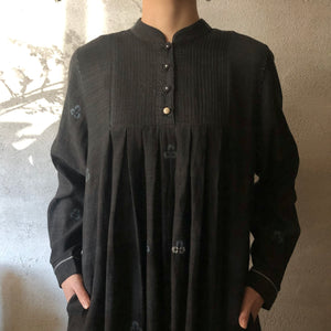 MAKU|KIANG - 100% cotton handwoven dress|G1968