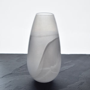 辻野 剛|tsw-08|smoky white|vase G100