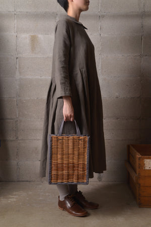 ebagos カゴ袋 19AW #19411 GRY