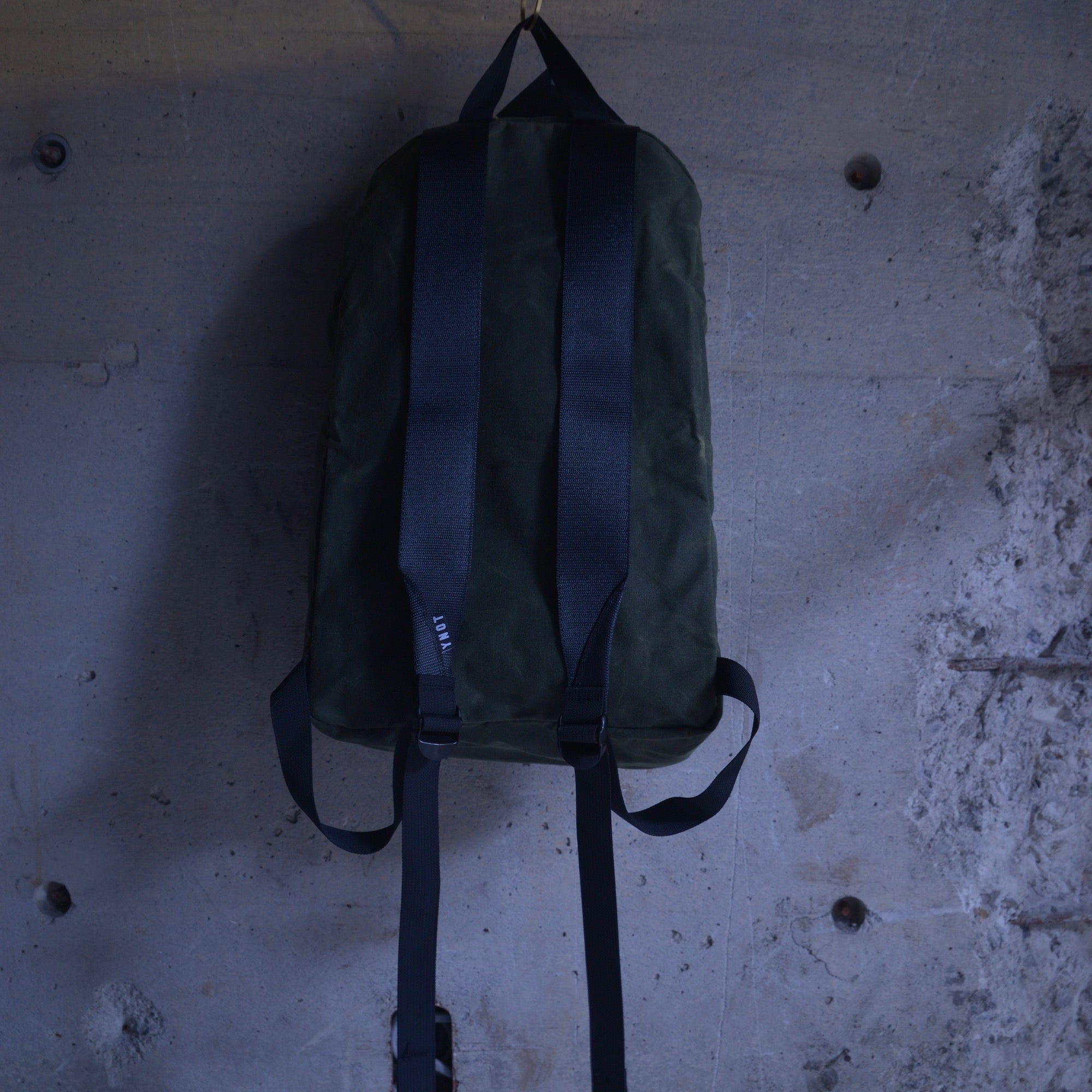 YNOT|Deploy|waxed canvas|oilve