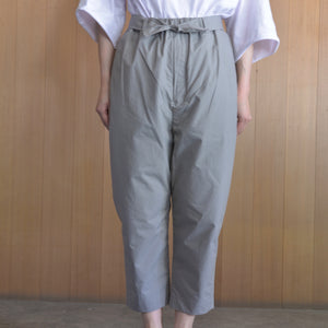 COSMIC WONDER|10CW12023|Ancient mythic cotton obi pants | Gray
