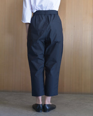 COSMIC WONDER|10CW12023|Ancient mythic cotton obi pants | Black