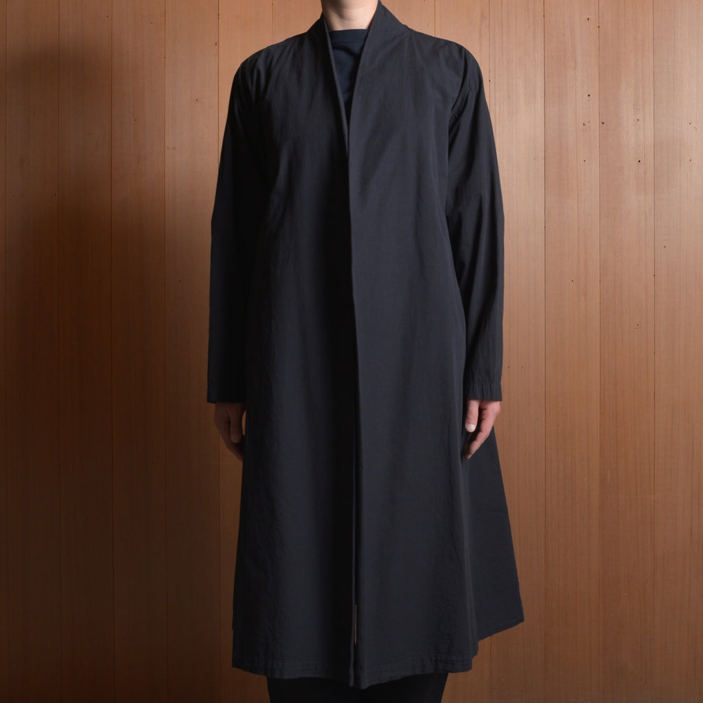 COSMIC WONDER|10CW06058|Organic cotton haori robe|Black
