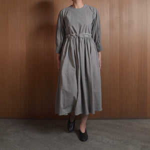 COSMIC WONDER|11CW17218|Beautiful organic cotton monastery dress|Light sumikuro