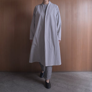 COSMIC WONDER|11CW06061|Beautiful organic cotton Haori robe|Light sumikuro