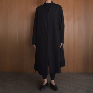 COSMIC WONDER|11CW06061|Beautiful organic cotton Haori robe|Black
