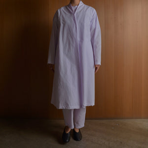 COSMIC WONDER|11CW06061|Beautiful organic cotton Haori robe|Light violet