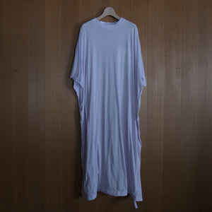 COSMIC WONDER|11CW17191|Beautiful organic cotton T-shirt dress|Light violet