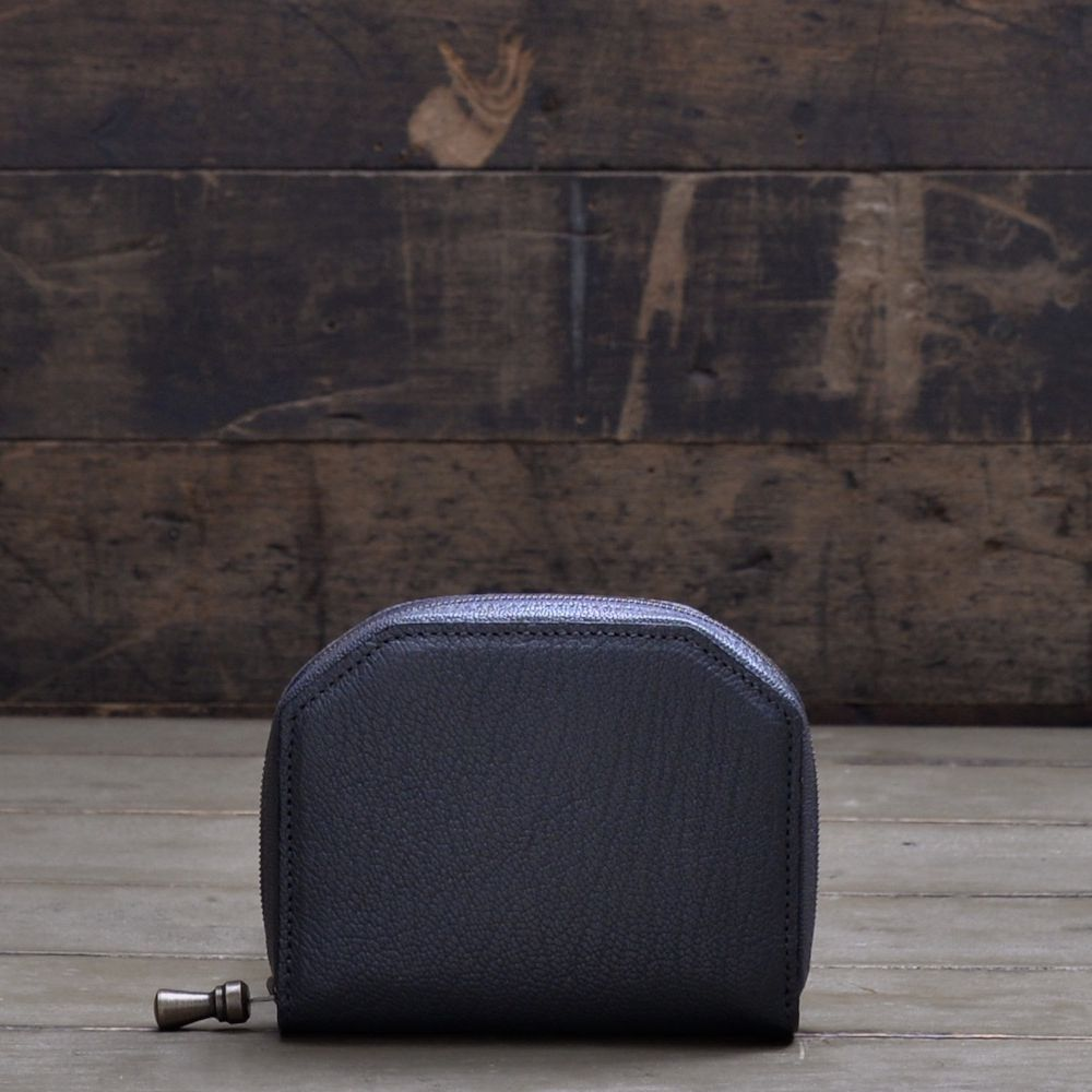 POSTALCO | No.60017 | Kettle Zipper Wallet | Small | Shade gray