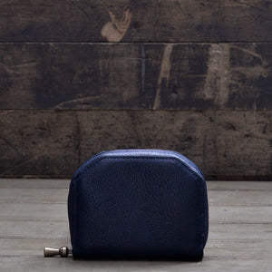 POSTALCO | No.60017 | Kettle Zipper Wallet | Small | Navy