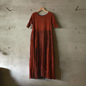 MAKU|HIRI-100% Cotton Handwoven Dress |G2095