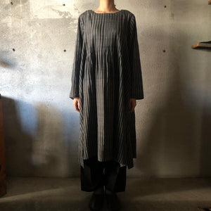 MAKU|TAHR 100% silk handwoven dress|G1967