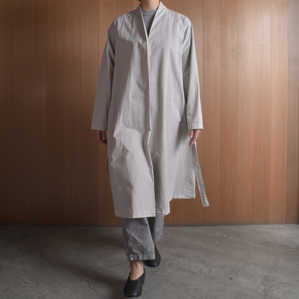 COSMIC WONDER|11CW06061|Beautiful organic cotton Haori robe|Ancient clay