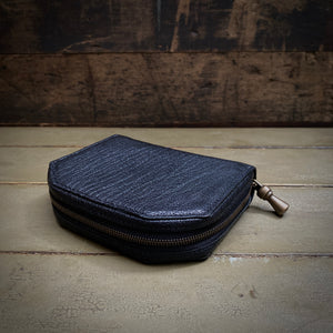 POSTALCO | No.60017 | Kettle Zipper Wallet | Small | Black