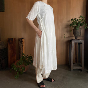 MAKU|AMIN_SL-100% Cotton Handwoven Dress|G2009