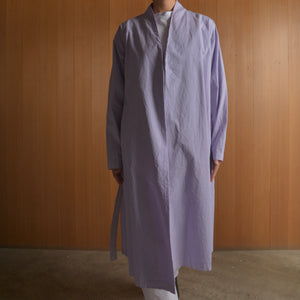 COSMIC WONDER|10CW06058|Organic cotton haori robe|Violet Flame
