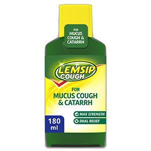 Lemsip Cough for Mucus Cough & Catarrh Oral Solution 180ml