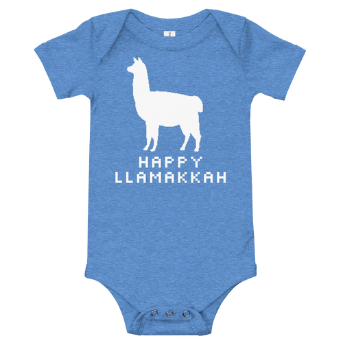 Happy Llamakkah Infant Bodysuit