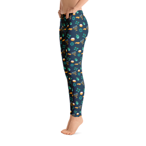 Adult Hanukkah Leggings