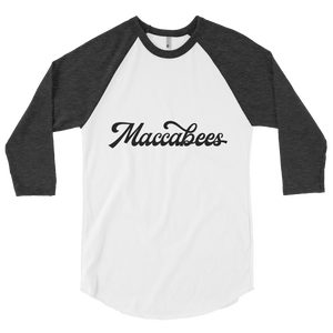 Maccabees Men's 3/4 sleeve raglan shirt
