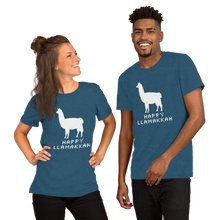 Load image into Gallery viewer, Happy Llamakkah Adult T-Shirt