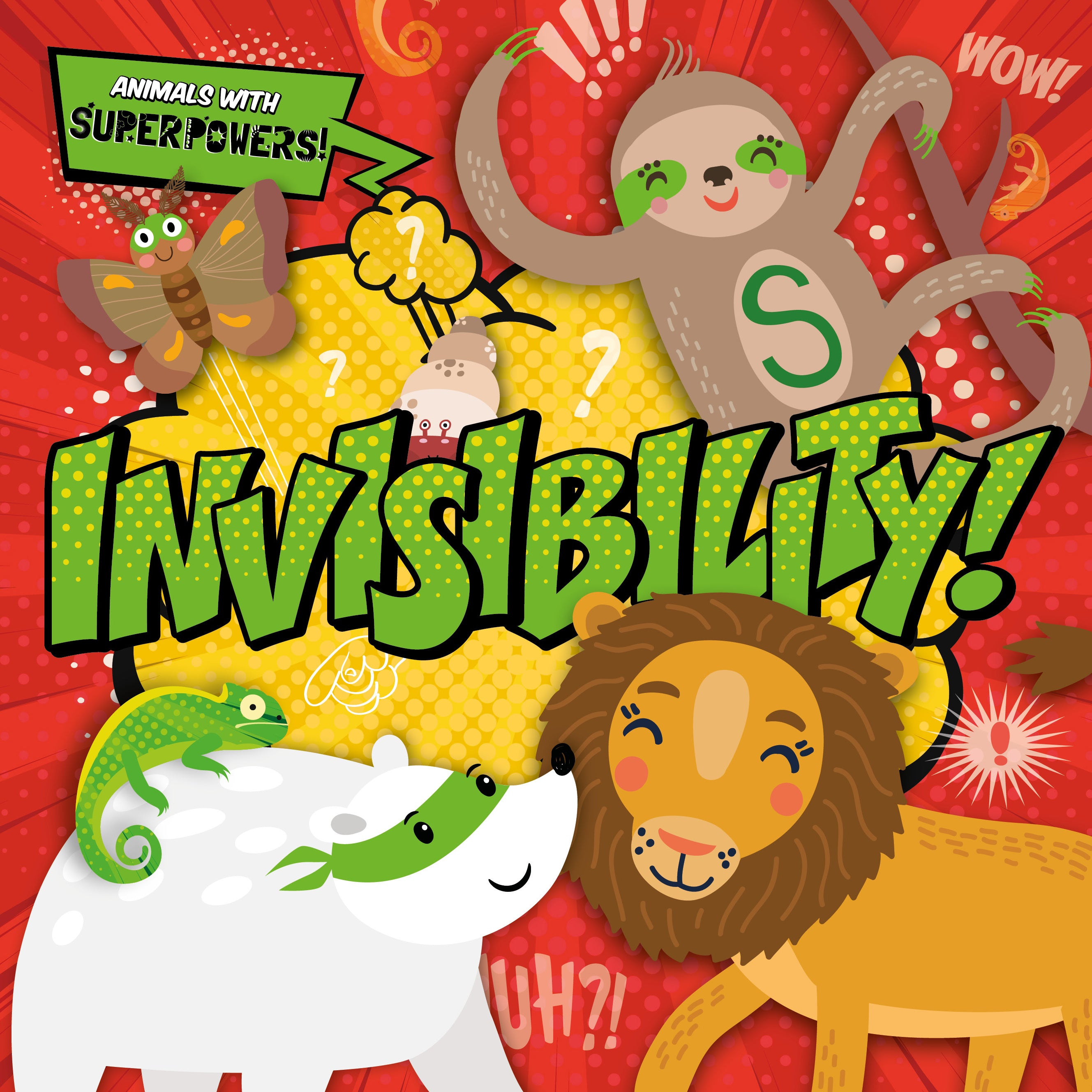 Animals with superpowers | Invisibilty | BookLife Publishing UK