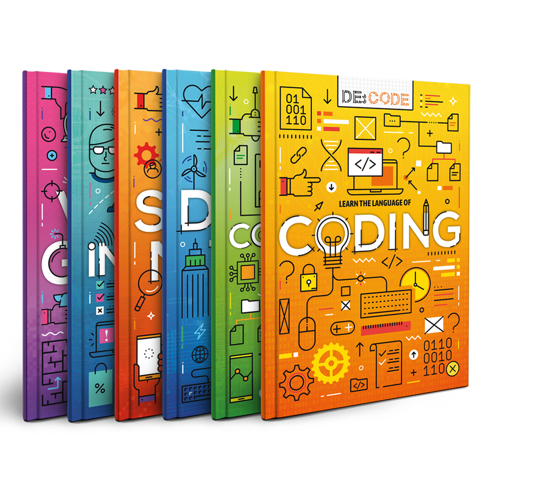 De:code, Coding book, BookLife Publishing, UK, Children's Books