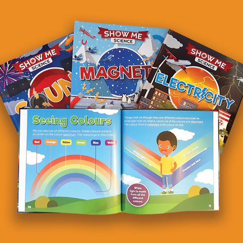 Show Me Science BookLife Publishing UK, Childrens Books