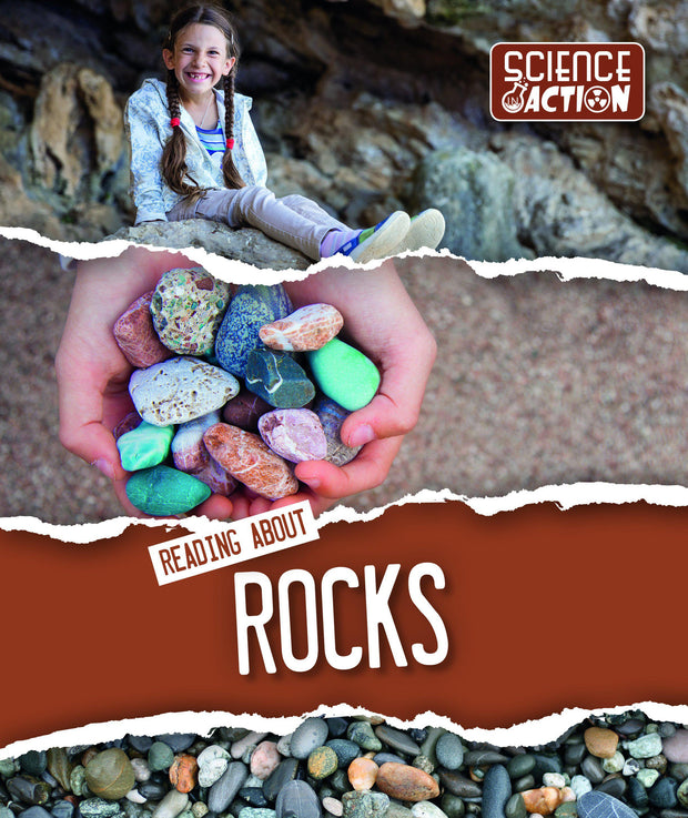 Science in Action: Reading About Rocks | Children's Books | Non-Fiction Books | BookLife Publishing Ltd