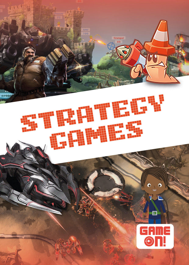 Game On!: Strategy Games | Children's Books | Non-Fiction Books | BookLife Publishing Ltd