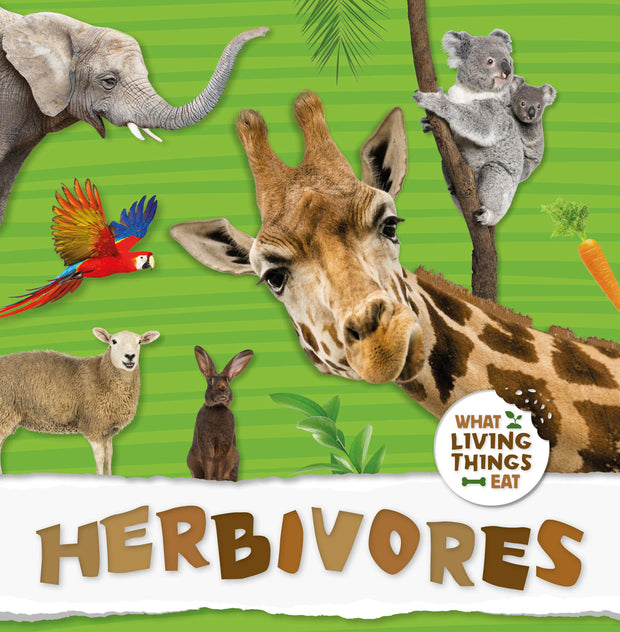 What Living Things Eat: Herbivores | Children's Books | Non-Fiction Books | BookLife Publishing Ltd