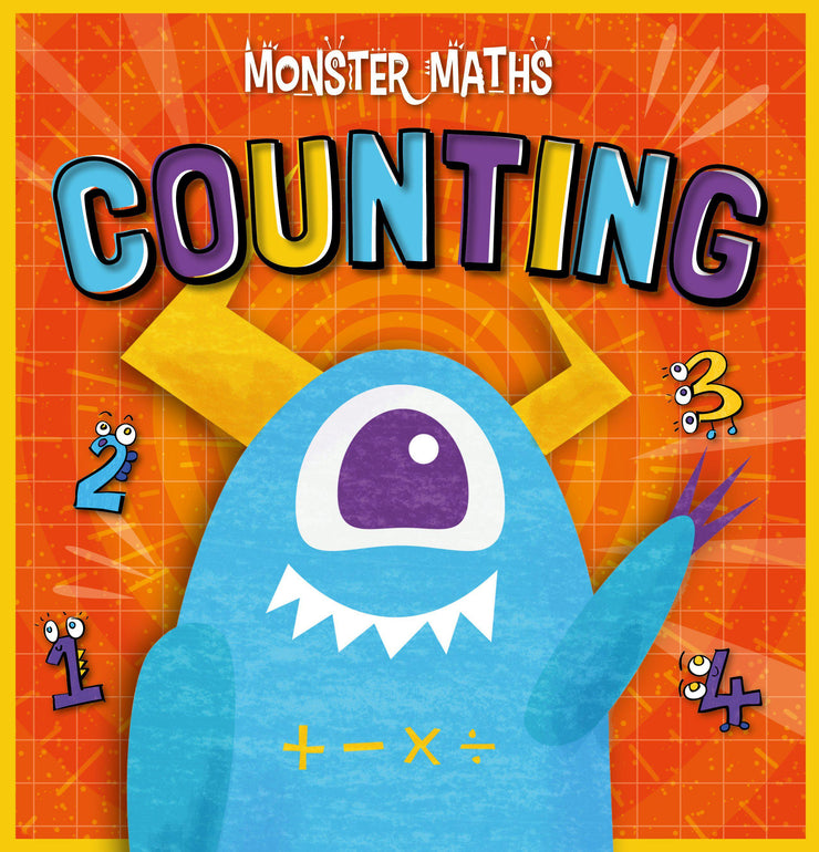 Monster Maths!: Counting | Children's Books | Non-Fiction Books | BookLife Publishing Ltd