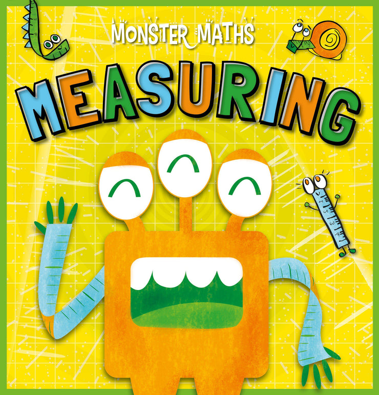 Monster Maths!: Measuring | Children's Books | Non-Fiction Books | BookLife Publishing Ltd