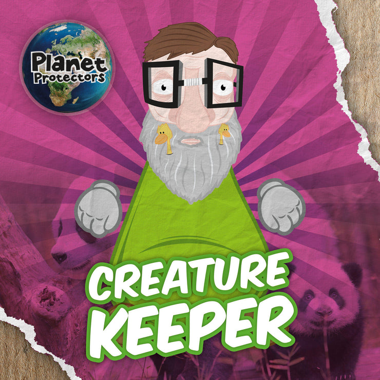 Planet Protectors: Creature Keeper | Children's Books | Non-Fiction Books | BookLife Publishing Ltd