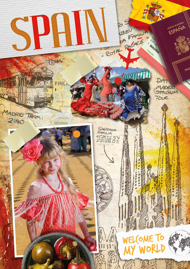 Welcome to My World: Spain | Children's Books | Non-Fiction Books | BookLife Publishing Ltd
