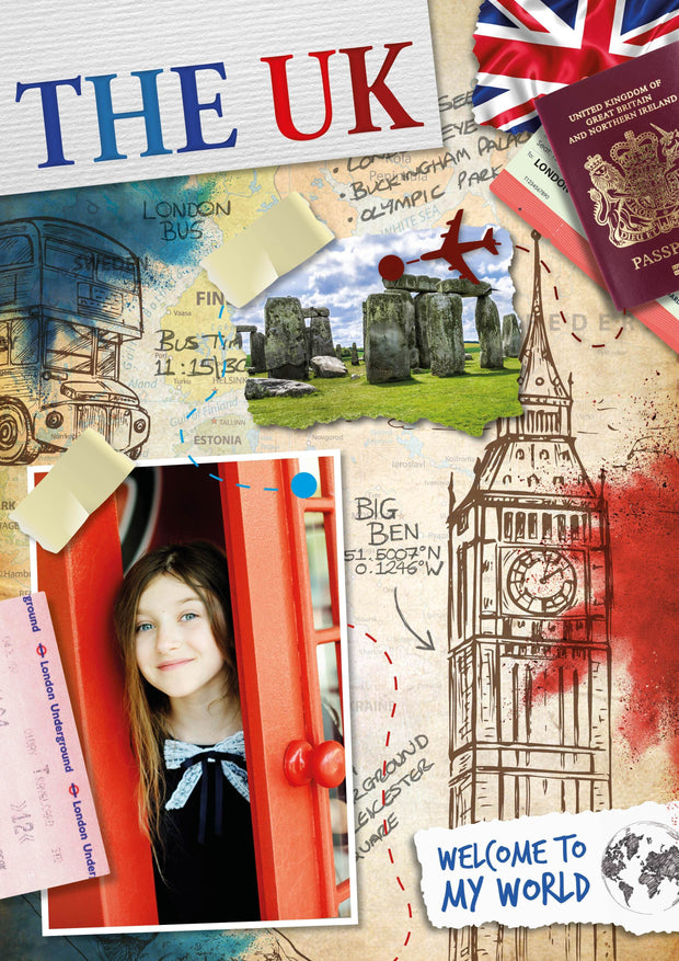 Welcome to My World: The UK | Children's Books | Non-Fiction Books | BookLife Publishing Ltd