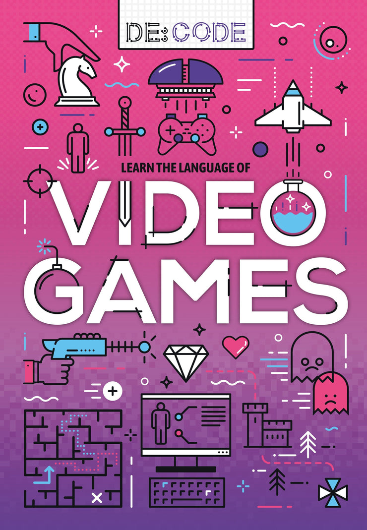De:Code: Video Games | Children's Books | Non-Fiction Books | BookLife Publishing Ltd