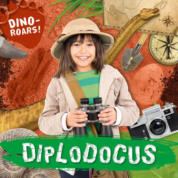 Dino-ROARS!: Diplodocus | Children's Books | Non-Fiction Books | BookLife Publishing Ltd