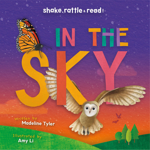 Shake, Rattle and Read!: In the Sky | Children's Books | Non-Fiction Books | BookLife Publishing Ltd