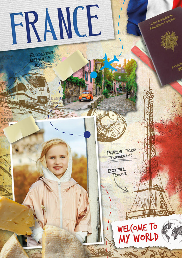 France: Welcome to My World - BookLife Publishing Ltd