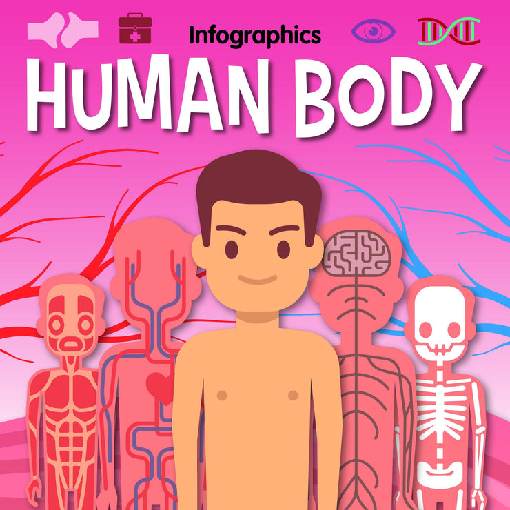 Infographics: Human Body | Children's Books | Non-Fiction Books | BookLife Publishing Ltd