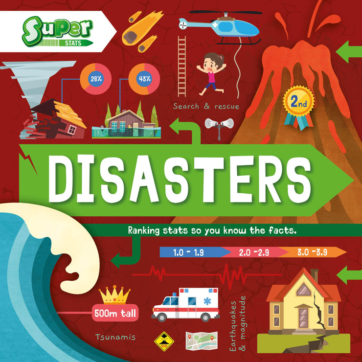Super Stats!: Disasters | Children's Books | Non-Fiction Books | BookLife Publishing Ltd
